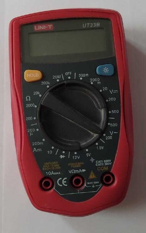 Батарейка мультиметра