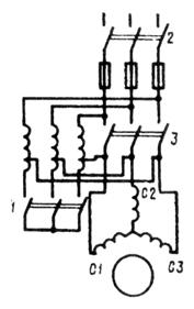 Автотрансформаторный способ пуска асинхронных двигателей с короткозамкнутым ротором